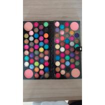 Estojo De Maquiagem Jasmyne Sombra 3d 84 Cores + 4 Blush