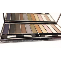 Paleta De Sombras Matte Day By Day 12 Cores - Luisance