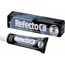 Kit Refectocil 2.0 Preto Azulado Para Cilios E Sobrancelha.