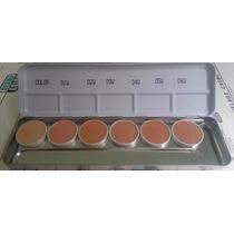 Kryolan Corretivo Dermacolor Paleta Dw 6 Cores 100%original