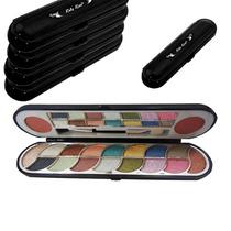 8 Kit Paleta De Maquiagem Sombra E Blush Ruby Rose Atacado