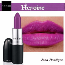 Batom Mac Ruby Woo, Heorine, Please Me,candy Yum Yum+ Brinde