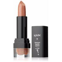 Makeup Batom Nyx Ds18 Castanho Sparkling Chestnut Diamond