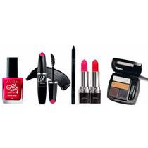 Kit Maquiagem Ultra Color Quarteto De Sombra Para Olhos