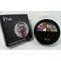 Kit Noiva Maquiagem 3 D Sombra Glitter Gloss Blush Pó T & G