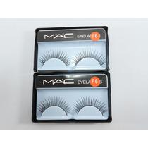 Cílios Postiço Mac 2 Unidades Olhos Maquiagem