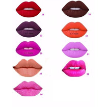 Lip Gloss Batom Líquido 24h Prova D Água = Mac Não Sai Beijo