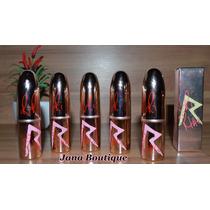 Kit 05 Batons Mac Rihanna. Coleção Ri Ri. Produto No Brasil