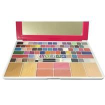Paleta De Maquiagem Notebook 75 Sombras Pincel Ruby Rose