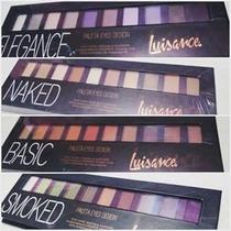 Kit Paleta Maquiagem Naked Pincel Sombra Luisance Eye Design