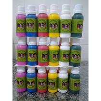 Tintas Para Maquiagem Rosto Tia Rosy Kit Com 15 Cores 30gr