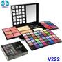 Kit De Maquiagem Jasmyne Profissional Sombra 3d Mac Po Blush