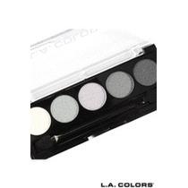 Paleta De 05 Cores De Sombra La Colors Do Branco Ao Preto