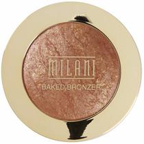 Baked Bronzer Milani - Iluminador E Bronzer Em Pó.