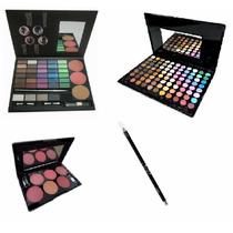 Paleta De Sombras 88 Cores,kit Maquiagem,blush.lapís