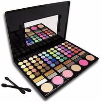 Paleta Maquiagem 78 Sombras + Blush Com Espelho E Aplicador!