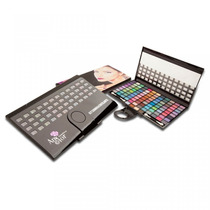 Kit De Sombras Cintilantes Any Color Com 100 Cores 1298