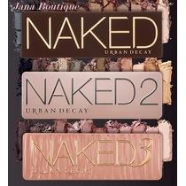 Kit Naked Urban Decay1+2+3+mascara Da Chanel- Pronta Entrega