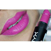 Batom Nyx Matte Lipstick Sweet Pink Mls Original