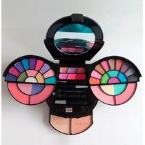 Kit Maquiagem 30 Sombras 3d 14 Itens Luisance Pronta Entrega