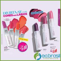 Batom Hidratante Colortrend 3,6g, Avon Fps 15, Promoção Avon
