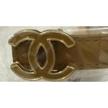 Cinto Feminino De Marca Grife Chanel + Importado + Brinde