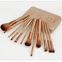 Kit Pincel Naked Para Maquiagem 12 Peças Pronta Entrega.
