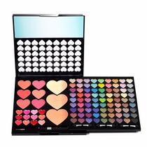 Kit De Maquiagem Com Sombra, Batom, Blush, Pó Jasmyne Cr9042