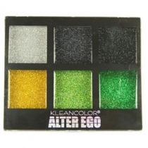 Paletas Sombras Com Glitter - Kleancolor - Cream Glitter Eye