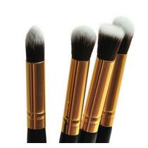 Kit Pincel Profissional Para Maquiagem 4pçs Esfumar Sombra