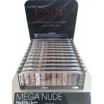 Paleta Mega Nude - Luisance - Sombra Neutra Fosca - Naked
