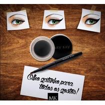 Delineador Em Gel (preto) Mary Kay - Grátis Pincel Compacto