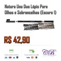 Natura Una Duo Lápis Para Olhos E Sobrancelhas (escuro 1)