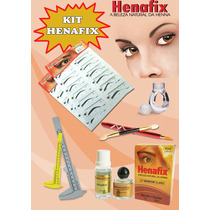 Kit Henna Profissional+2 Moldes+pincel+anel+2 Paquimetros