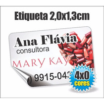 Etiqueta Adesiva Mary Kay Consultoras - 2x1,3cm P/ Produtos