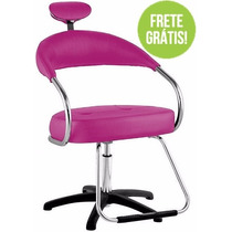 Cadeira Para Salão De Beleza, Frete Grátis! - Futura Dompel