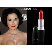 Batom Mac Russian Red - Pronta Entrega