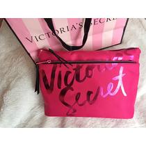 Maquiagem Necessaire Victorias Secret Original Rosa Pinkeua