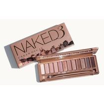 Maquiagem Naked Modelo 3 + Pincéis Naked Importado Original