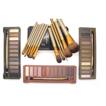 Kit Paletas Urban Decay Naked 1, Nk2 Ou Nk3 + Estojo Pincel