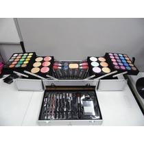 Maleta De Maquiagem Jasmyne Profissional Completa V641-s