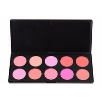 Paleta De Blush 10 Cores H10 Mac - Sigma - Zoreia Maquiagem