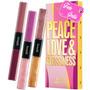 Peace Love & Glossiness - 3 Glosses - Frete Grátis