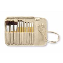 Kit De Pinceis 10pçs Bh Cosmetics Original Marca Dos Usa