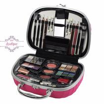 Maleta Maquiagem Fenzza Rosa Pink - Pronta Entrega