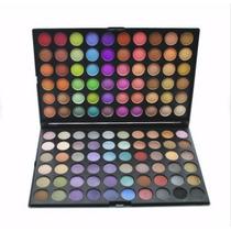 Paleta Sombra 120 Cores Colorida - Pronta Entrega