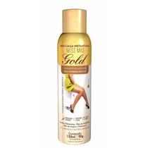 Missmag Gold Meia Calça Instantânea Pele Morena Escura Spray