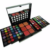 Kit De Maquiagem Com Sombras 3d Jasmyne Cr9035