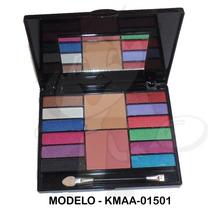 Kit Maquiagem Estojo Maquiagem Sombras 3d - Presente Mulher