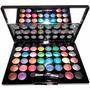Kit Maquiagem Completo Estojo 36 Sombras 3d+ Pincel+ Espelho